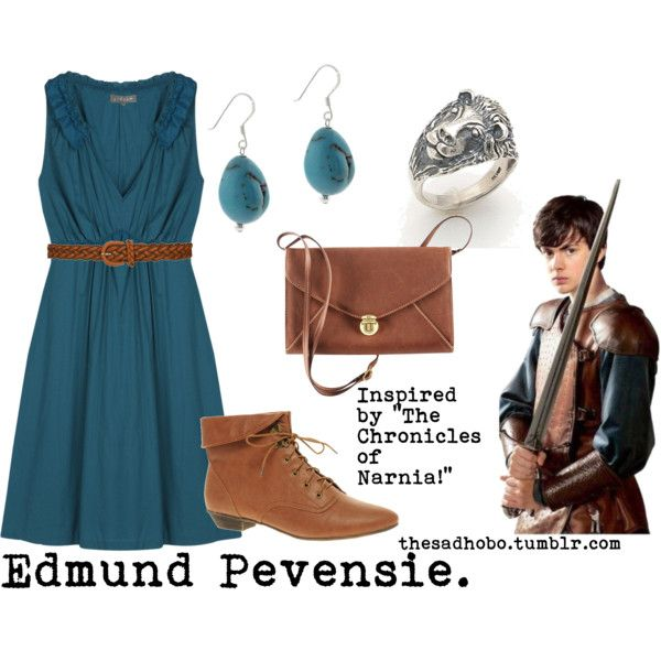 """Edmund Pevensie inspired fashion"" by erfquake on Polyvore"