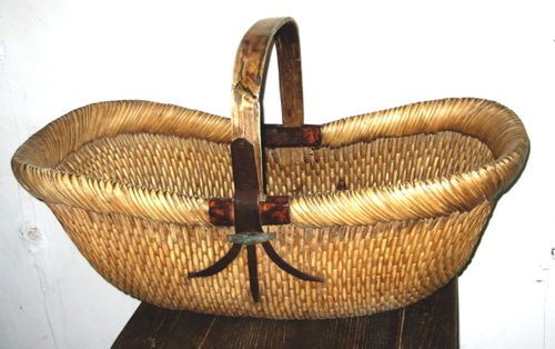 Basket Weaving Process : Best images about bamboo on vintage