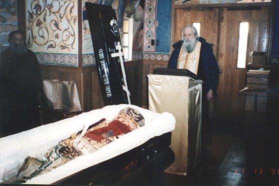 The Translation of the Relics of Metropolitan Philaret