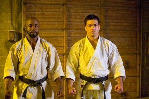 Michael Jai White and Lyoto Machida. Shotokan karatekas.