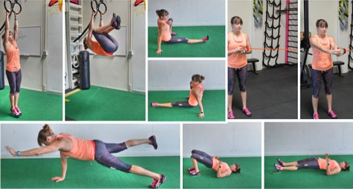5 Crunchless Core Moves: Tone and strengthen your entire core with compound moves that work your big muscle groups.