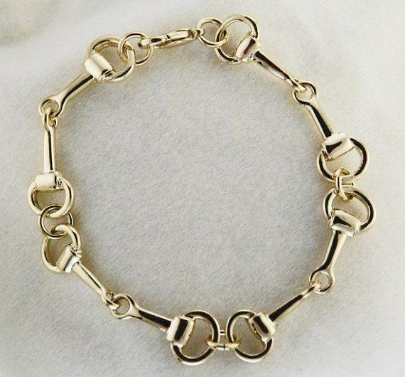 Horse Bit Bracelet Stocking Stuffer https://www.etsy.com/listing/185932090/horse-bit-bracelet-beautiful-handcrafted