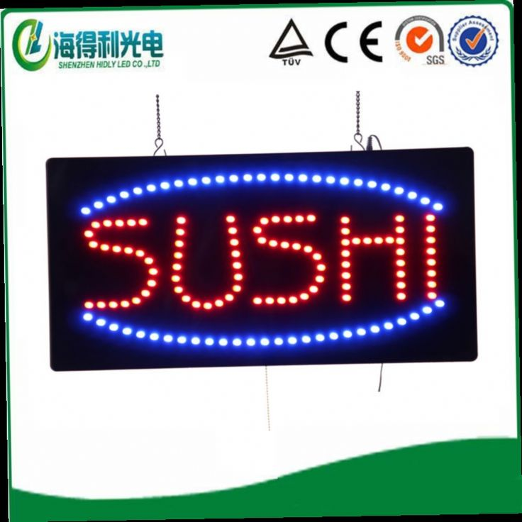 45.00$  Watch now - http://alicpn.worldwells.pw/go.php?t=2039292704 - 2014 special offer  hot sale indoor LED Sushi sign/LED OPEN sign 45.00$