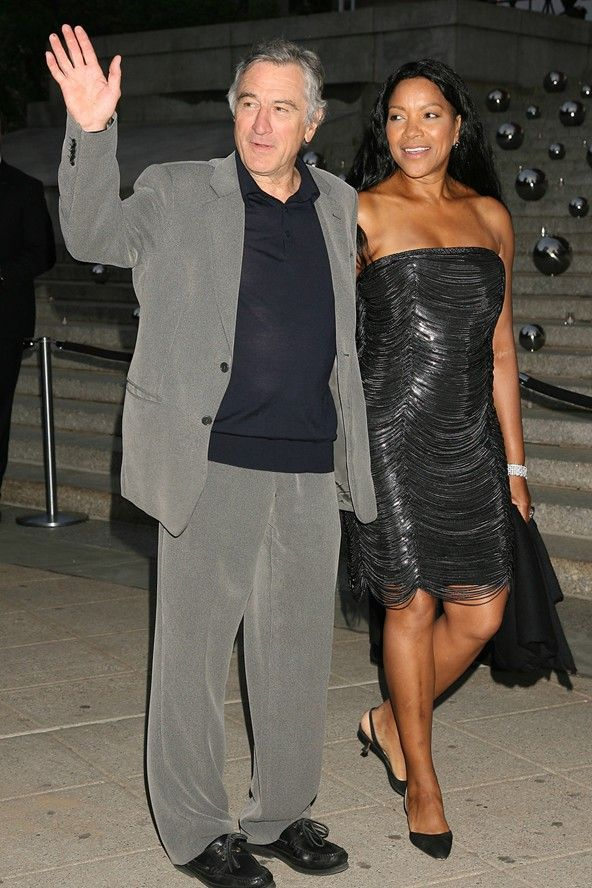Robert De Niro & Grace Hightower   Robert de Niro ...
