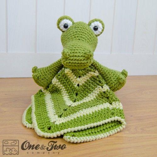 Crocodile Lovey and Amigurumi Crochet Patterns Pack ...