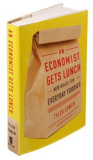 """NYTimes says """"Reading Mr. Cowen is like pushing a shopping cart through Whole Foods with Rush Limbaugh."""" What?  http://www.nytimes.com/2012/04/11/books/an-economist-gets-lunch-by-tyler-cowen.html"""