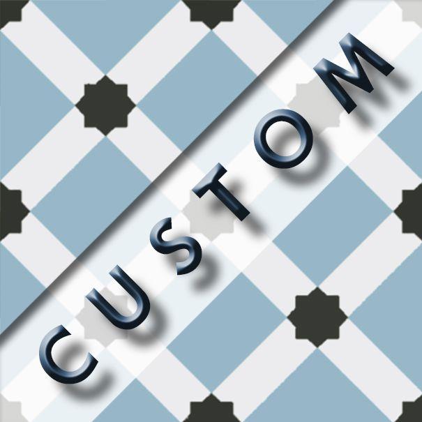 Carreau Imitation Ciment Personnalisable 20x20 Cm Custom Dama