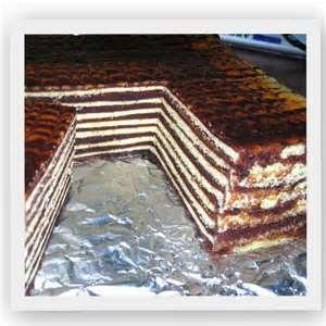 Kek Lapis Cheese Coklat
