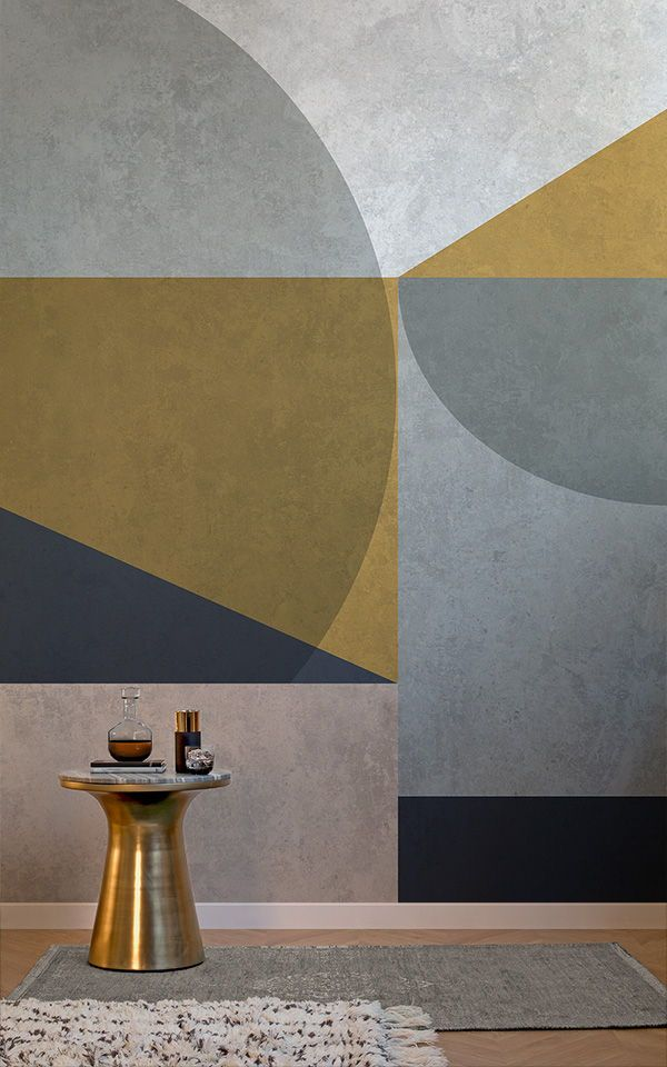 Pitture Murali Moderne Per Interni.Poster Murale Nico Geometric