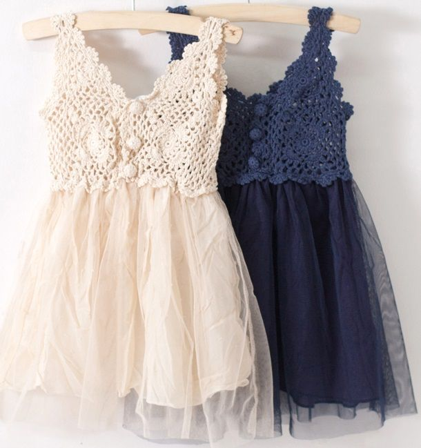 Download Eteği Tüllü Yazlık Kız çocuk Dantelli Elbise Modeli