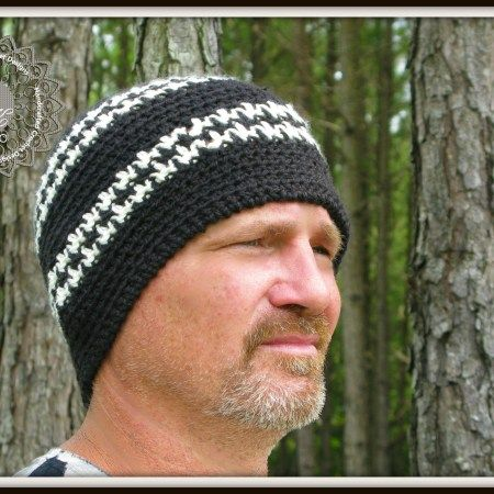 Free Crochet Pattern Houndstooth Hat : Free Crochet Houndstooth Scarf Pattern by ELK Studio ...