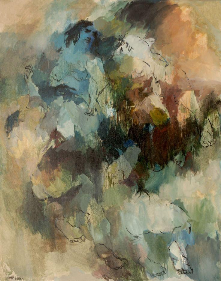 Composición N°5 - Óleo sobre tela