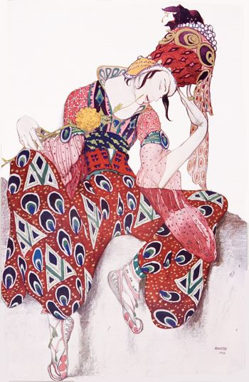 Leon Samoilovitch Bakst, Russian painter and costume designer for the Ballets Russes