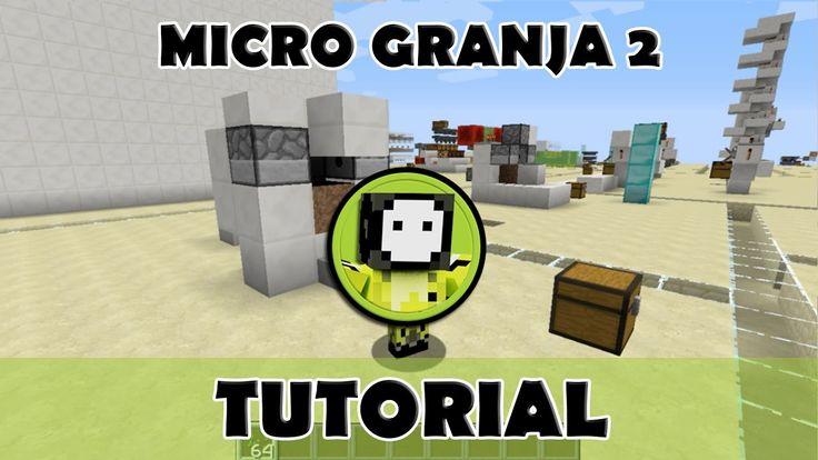 Tutorial Minecraft | Micro granja automática de comida 2