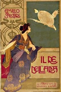 Il Re dell'aria, alle stampe per la prima volta nel 1907 dall'editore Bemporad di Firenze.