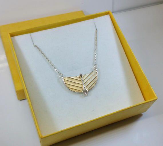 Halskette Collier Silber 925 Anhänger von Schmuckbaron auf Etsy