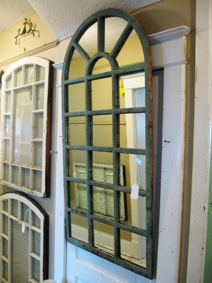 Metal arch top mirror rmb lucketts store our dealers for Arch window replacement