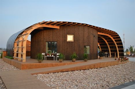 Solar-powered shared student housing