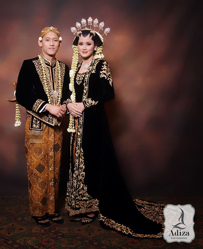 Javanesse Traditional Wedding Outfit Insyallah😍💏