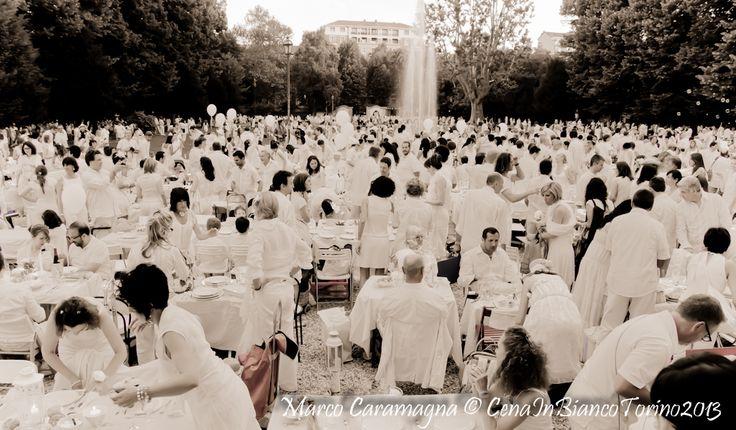 Cena in Bianco Parco della Tesoriera Torino