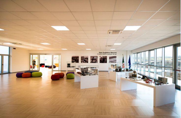 Sala Marconi del vetrya corporate campus ad Orvieto. Il nostro futuro è passato da qui