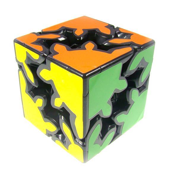 Gear Cube 2x2 BLACK