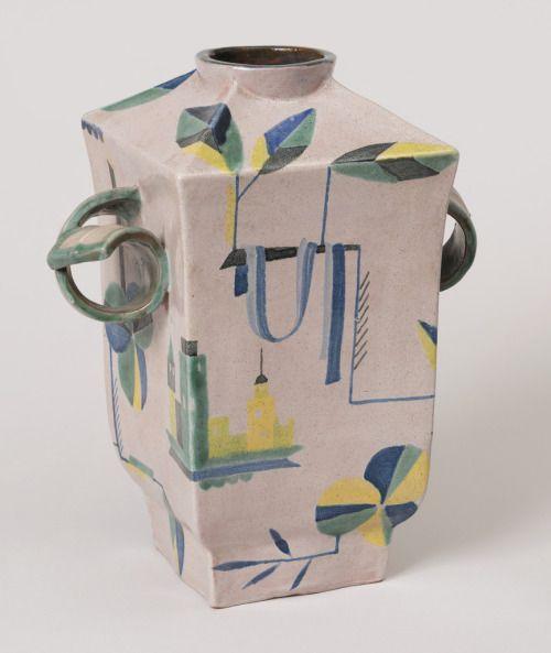Wiener Werkstätte flower vase c. 1921