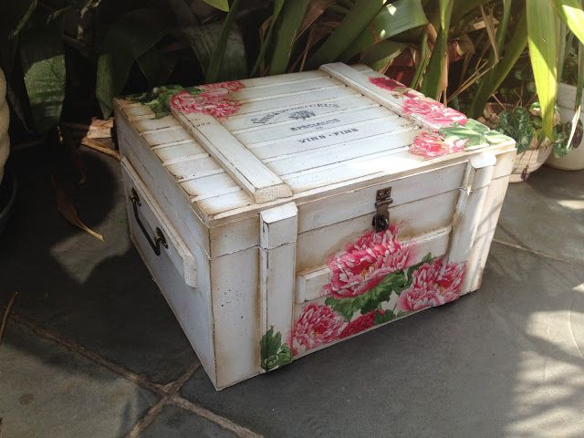 Oh, ich habe so eine Holzkiste noch im Keller! :-)) I remember now that I have such a box in the cellar! :-))