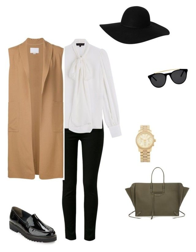 """№1"" by pchela on Polyvore featuring мода, J Brand, Monki, Smoke & Mirrors, Barbara Bui, Paul Green, Alexander Wang, Balenciaga и Michael Kors"