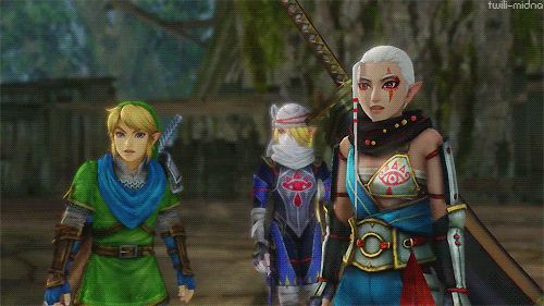 """I'm laughing so hard.  """"So, wait... You mean Zelda is... You're... How?!"""""""