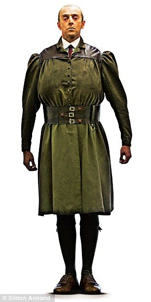 Miss Trunchbull, Matilda the Musical, Full Makeup and Costume