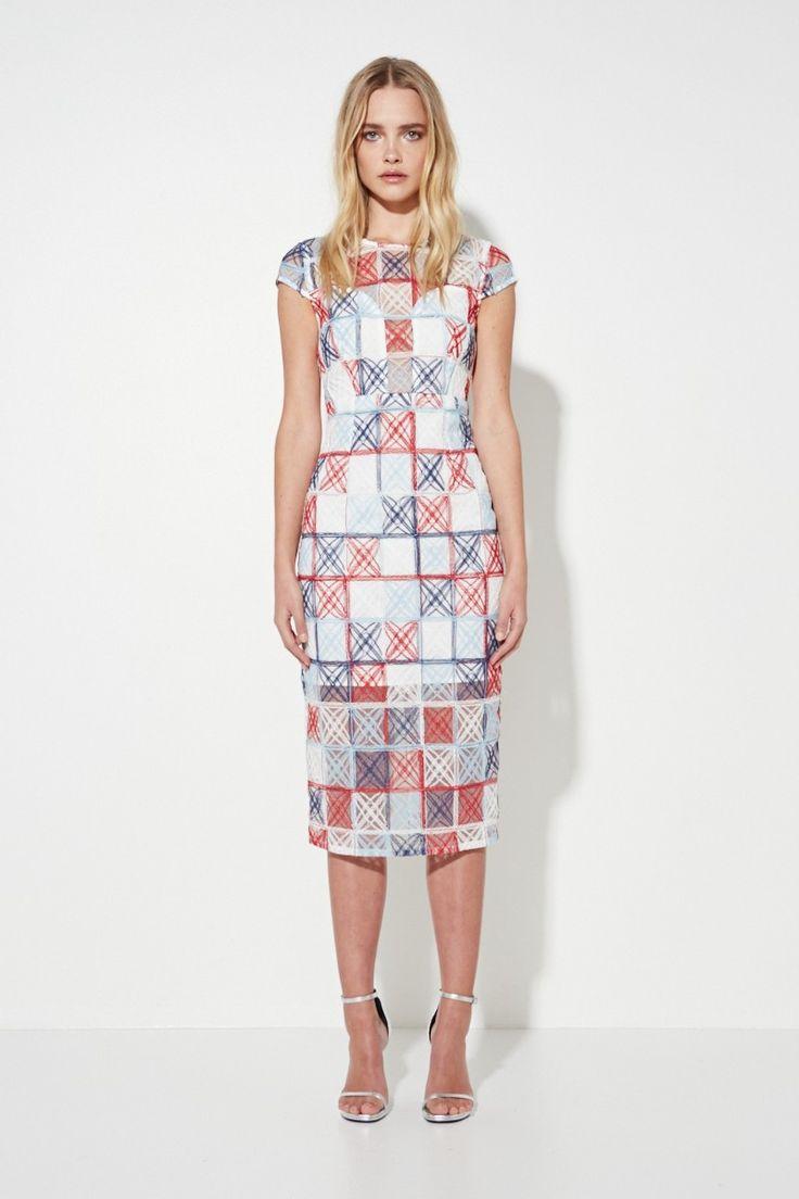 Mossman - The Equal Angles Midi Dress