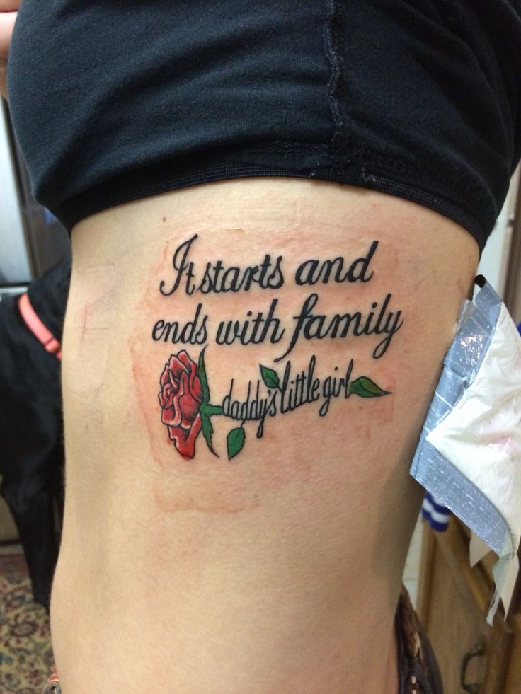 16 best images about dad tattoo designs on pinterest for Daddys girl tattoo