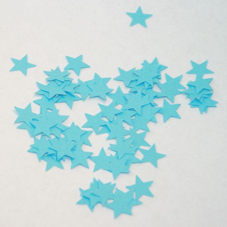 Découpes / Confettis Etoiles bleues pour décoration de table ou scrapbooking 2 €