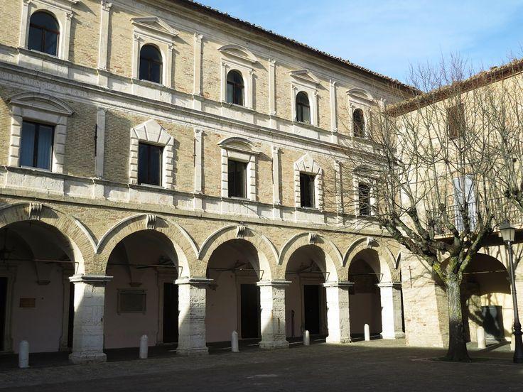 Cingoli, Marche, Italy - glimpse of the square #2 by Gianni Del Bufalo