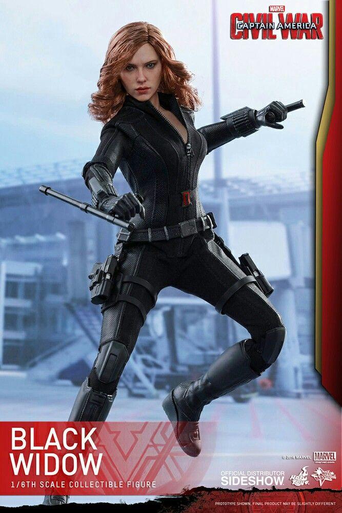 Action figure Black Widow