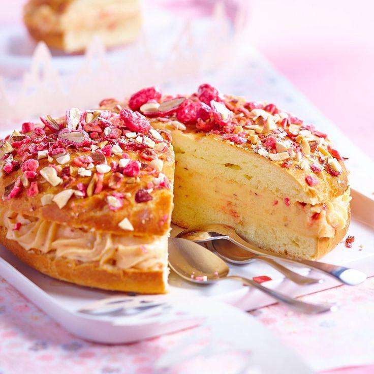 Découvrez la recette de la tarte tropézienne aux éclats de pralines