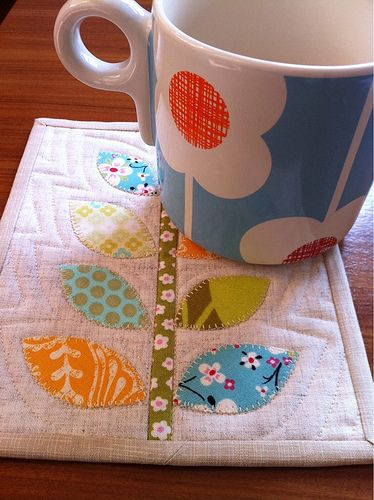 Mug Rug - love the mug as well as the rug!!