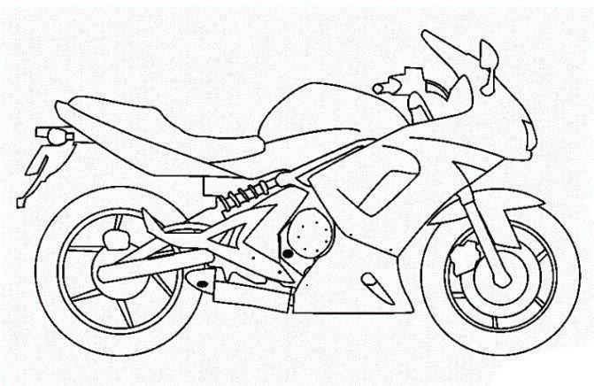 Malvorlage Motorrad Motorradmalerei Motorrad Motorrad Lustig Motorrad Lustig Lustig Malvorlage Mo Ausmalbilder Fahrrad Zeichnung Motorrad