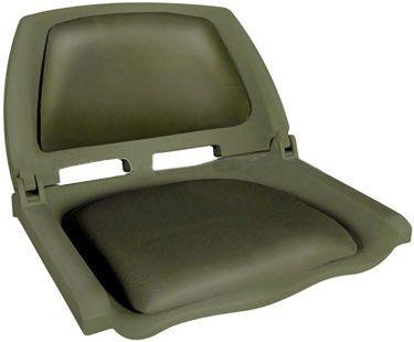 Сиденье в лодку Folding (75109O)  Компактное кресло с пластиковым каркасом и вставками из мягкого винила на спинке и сиденье. Спинка имеет фиксатор складывания. Сиденье может быть установлено на большинство моделей лодок, на ровный участок палубы. Крепится при помощи саморезов (4 шт.). Совместно с креслом можно использовать дополнительные аксессуары:• подстаканник для кресла - 75135;• поворотная платформа для кресла - 115026;• стойка под кресло 8WD1250, 8WD1251 или 8WD1255. Ширина кресла…