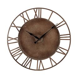 Sterling Industries Metal Roman Numeral Outdoor Wall Clock