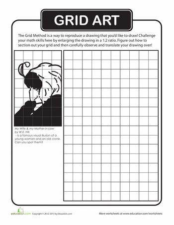 Worksheet Grid Drawing Worksheets 95 best grid art images on pinterest draw drawing and school art