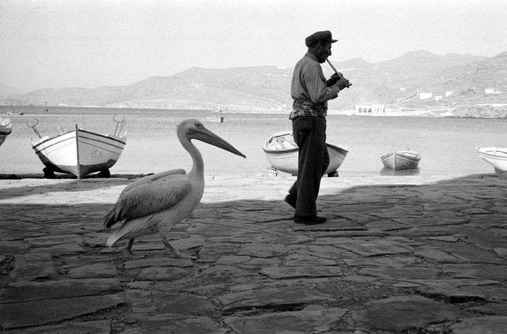 Μύκονος 1959 φωτογραφία Rene Burri
