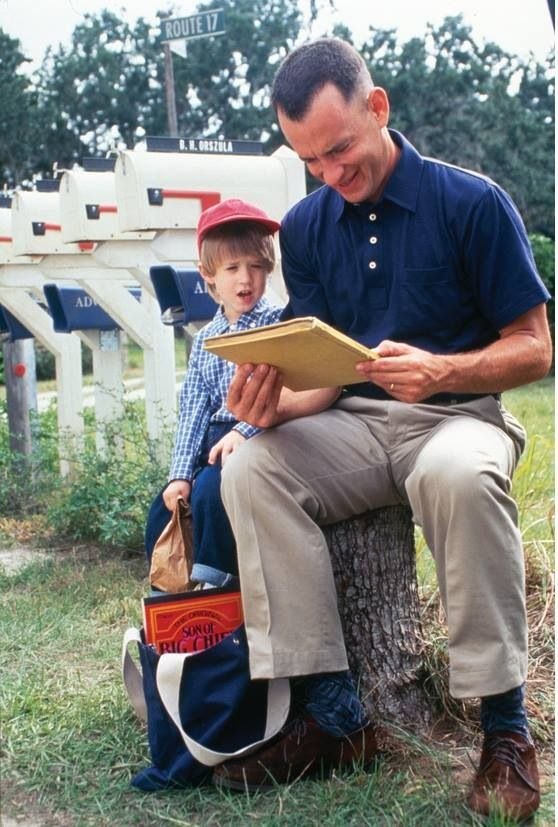 Forrest Gump. One of the best. But love Tom Hanks in most everything he is in.
