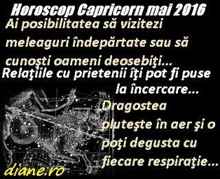 diane.ro: Horoscop Capricorn mai 2016