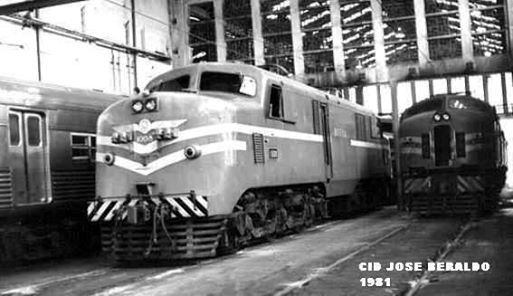#CP Companhia Paulista de Estrada de Ferro.