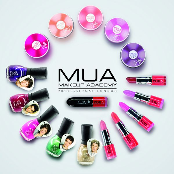 London Beauty Queen: FIRST LOOK: One Direction launch makeup range with MUA Cosmetics