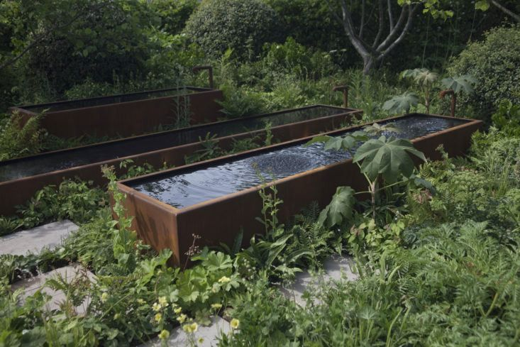 The Zoe Ball Listening Garden for Radio 2, designed by James Alexander-Sinclair.