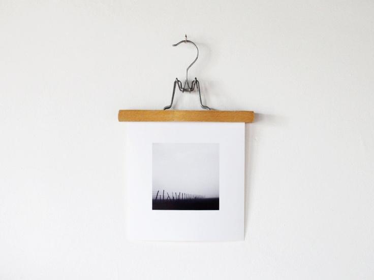 Vintage wooden hanger: A vintage pants hanger that would make original art hanging. $7.00, via Etsy.