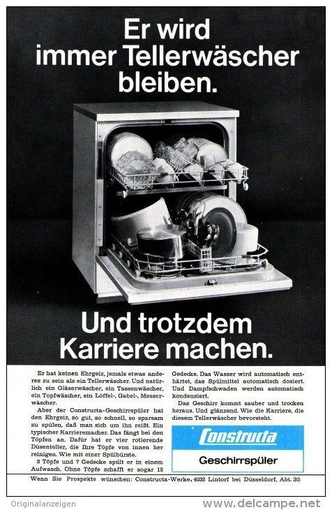 OriginalWerbung/ Anzeige 1966 1/1SEITE CONSTRUCTA